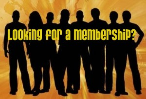 Looking for a membership?