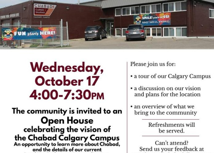 Chabad Lubavitch Open House
